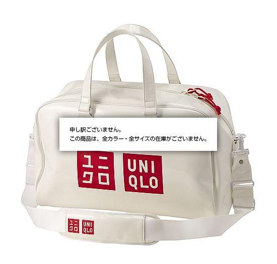 ユニクロのボストンバッグがインパクトありすぎだとTwitterで話題/オンラインショップ限定販売で、すでに完売する人気ぶり!!