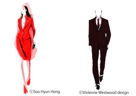 ヴィヴィアン・ウエストウッドがヴァージンアトランティック航空とコラボ! 客室乗務員ユニフォームの新デザインが発表される