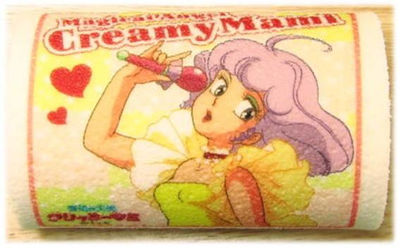 食べるのがもったいな~い! 放送開始30周年 なつかしのテレビアニメ「クリィミーマミ」のロールケーキがカワイイ