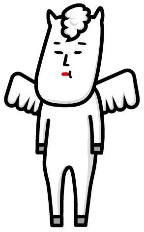 名前と見た目のギャップがヤバいゆるキャラを発見/長野県白馬村の「ヴィクトワール・シュヴァルブラン・村男3世」