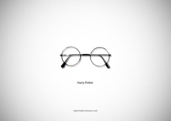 さて、誰のメガネか分かる? 有名人をメガネだけで表現した作品