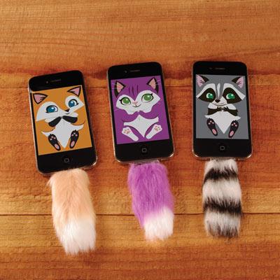 iPhoneやiPadにふわふわの尻尾をはやしちゃおッ☆/iOS用アクセサリー「Faux Tail」がめちゃめちゃかわいいのだ!!