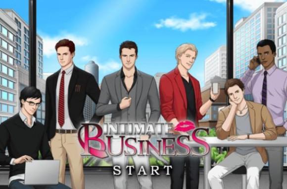 あなたはどのイケメンと恋したい? 北米仕様恋ゲーム『Intimate Business』で胸キュンしちゃお!