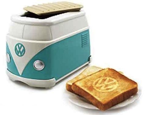 日本でキャンペーン時に配られた「フォルクスワーゲンバス・トースター」ただいま海外オークションで価格高騰中!!