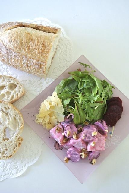 かわいいピンク色のサラダを作ろう!! 「ビーツ入りポテトサラダ」/外国人の彼レシピ〜オーストラリア編〜