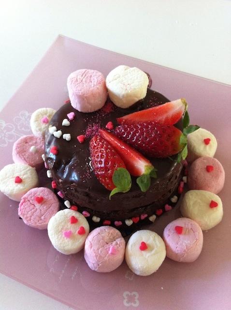 original strawberry cake