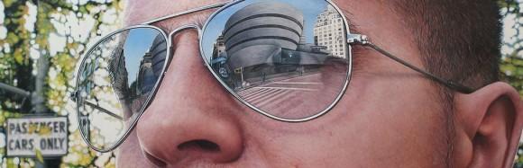 ナイスアイディア! バーチャル旅行が楽しめるロンドンやNYなどの景色が描かれたサングラス
