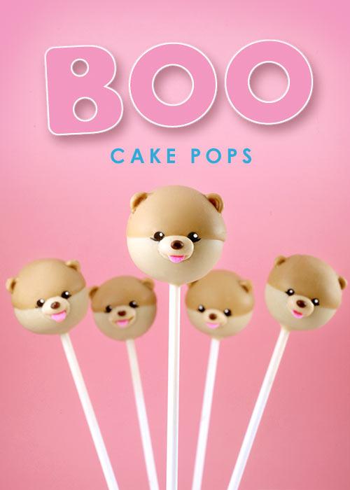世界で1番可愛い犬BOOのロリポップケーキの作り方♪ ゴルゴ可愛い猫グランピーキャットVer. も