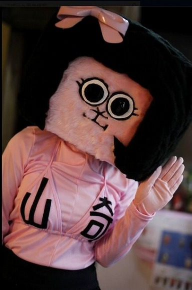 シュールなゆるキャラ「オカザえもん」の女性版が出現/徳島県東みよし町のピンクな女の子「オカザえんぬ」って?