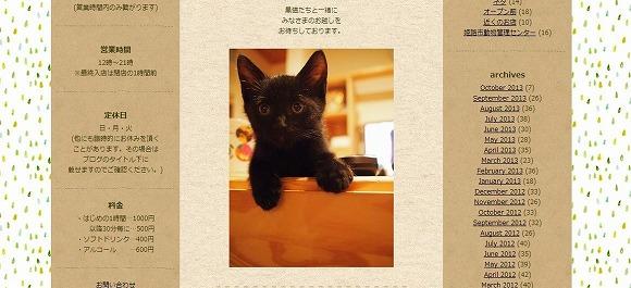 たぶん日本初! 「黒猫専門」のネコカフェが兵庫県にあるよ / 黒ネコだらけでこりゃたまらんにゃぁ~!!!