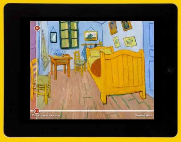 謎解きしながら名画鑑賞! ゴッホの絵に隠された様々なヒミツがわかるアプリ / 修復前の絵画の姿が浮き上がるなど