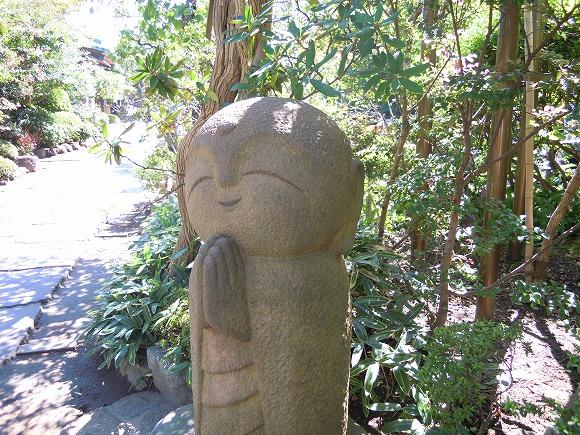 【かわいい鎌倉】これぞ、まさしく和み系! 鎌倉・長谷寺の「和み地蔵」の微笑みにほんわかと心が和んだでござる