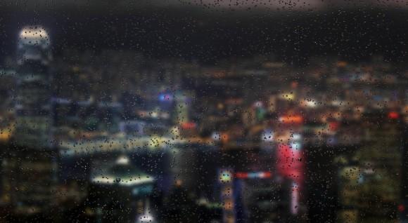 ほぅ…心がしっとりと癒やされる / 雨の雫が窓をつたう光景を心ゆくまで堪能できるサイト『rainyday.js』