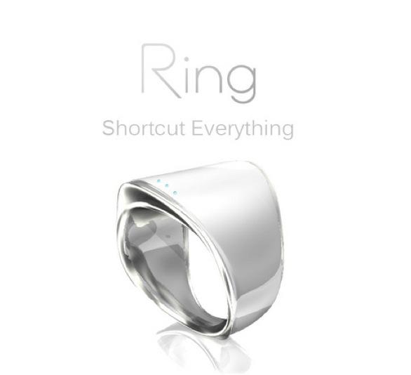 指輪を触るだけでメールで送れる!? 日本発リング型デバイスがなんだか胸キュン!