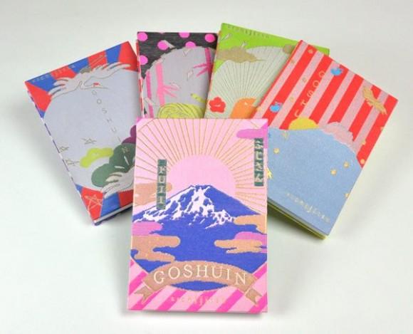 わ、コレ欲しい!! ご利益ありそうな雰囲気ムンムン、富士山柄のモダンな御朱印帳『GOSHUINノート』