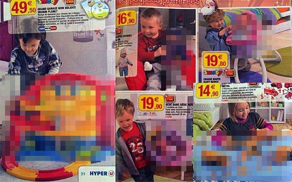 女の子にはアレで男の子にはコレ…っておかしくね!? フランスのクリスマスカタログがヘンなことになってる