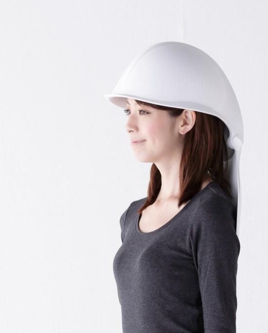防災グッズをよりオシャレに身近なところに! あなたを守るお尻の下のヘルメット『マモリス』