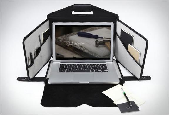 ノートパソコンを持ち歩く人のための画期的なバッグ