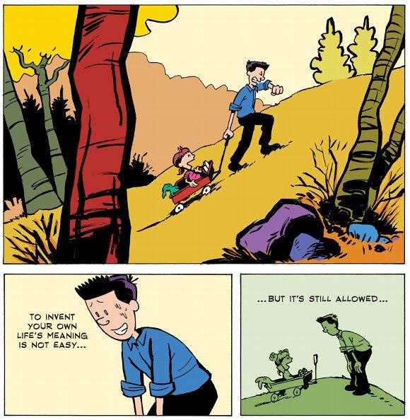 疲れた心に深くしみる!! アメリカの有名漫画家の言葉とトリビュートコミック / 人生と仕事の意味とは
