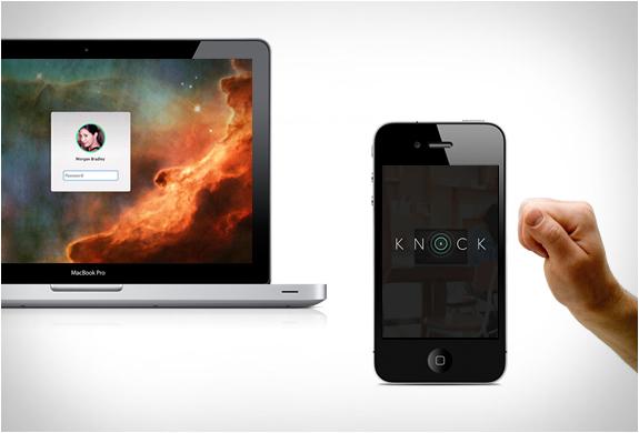 iPhoneをノックするだけで自動的にパソコンにログインできるアプリ『Knock』が登場!