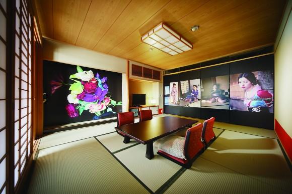 ホテル古湧園 (C)NOBUYOSHI ARAKI/Dogo Onsenart 2014 & HOTEL HORIZONTAL, All Rights Reserved