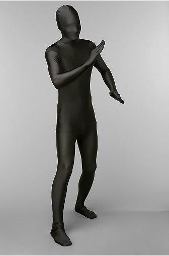 「名探偵コナン」に出てくる黒い人(犯人)に変身できちゃう全身スーツをアーバンアウトフィッターズにて発見!