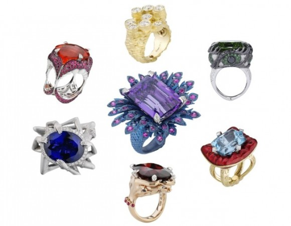 「憤怒=ルビー」「色欲=ダイヤモンド」を使用!  7つの大罪をテーマにしたジュエリーがまばゆいほどに美しい