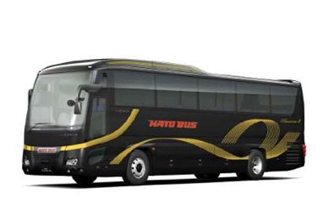 黄色が目印の「はとバス」から漆黒の超高級バス車両が新登場! 内装からツアーまで何もかも超ゴージャスなんだって!!