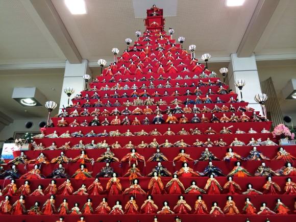 日本一高いピラミッドひな壇!! 「鴻巣びっくりひな祭り」が想像以上にものすごいことになっちゃってるよ!