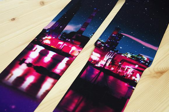【Pouch★読プレ】工場萌え〜! 世にも美しいタイツ「DORAMIK 夜の工場タイツ」1名様に