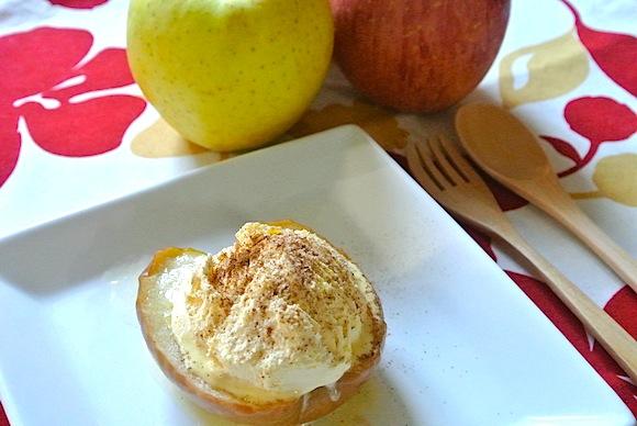 【めちゃ簡単激ウマ☆レシピ】ネットで話題! クッキングパパの「焼きりんごアイス」を作ってみたよ