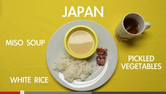 外国人が作った「世界の朝食」動画にモヤモヤ! 日本人は白飯に味噌汁に漬物…間違ってないけど微妙にズレてる
