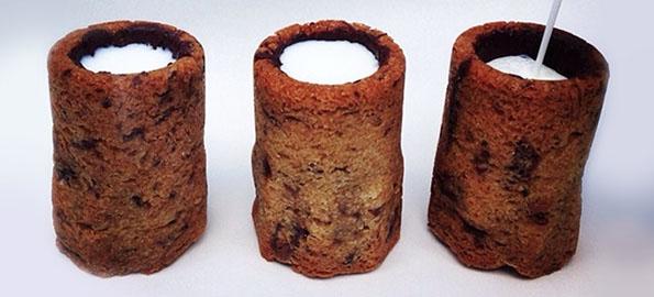 グラスまるごといただきま~す!? 「クロナツ」発案者が作った本物のクッキーでできたショットグラスが可愛い♪