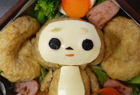 【本日3月12日は初午の日】お稲荷さんの日に。「チェブラーシカ」のお稲荷さんを作ってみたよ♪