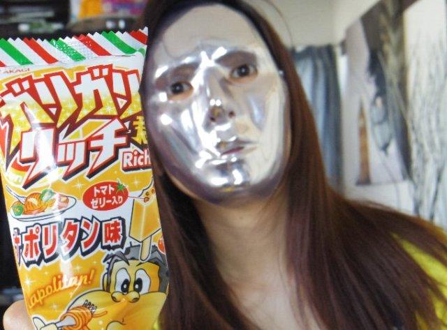 【3月25日の新発売】祝☆ガリガリ君ナポリタン味! ナポリタンをミキサーにかけて凍らせてみた!!