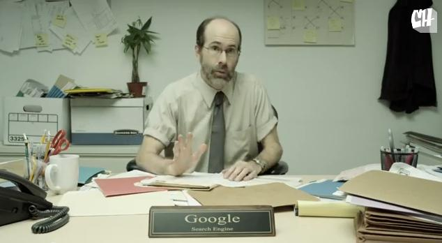 お待ちかね第2弾!!「もしもグーグルサーチが人間だったら」/ 相変わらずのくだらない質問連発に、グーグルさんとうとうキレるの巻