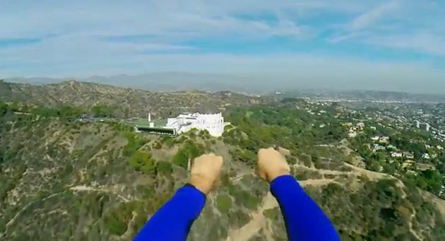 疾走感が超気持ちいい〜! スーパーマンの目線を体感できる動画のリアリティーがすんごい
