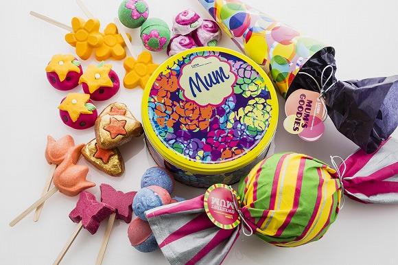 【母の日】ママにハッピーなバスアイテムをプレゼント / 「LUSH」の限定ギフトはおいしそうなキャンディのかたちなの♪