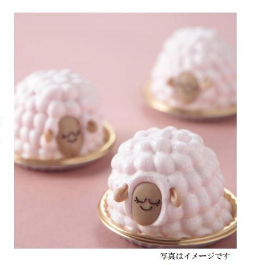 【ホワイトデー】マシュマロでふわふわの羊毛を表現♪ ヒツジのかたちの「洋風・苺大福」が期間限定で販売されてるよ!