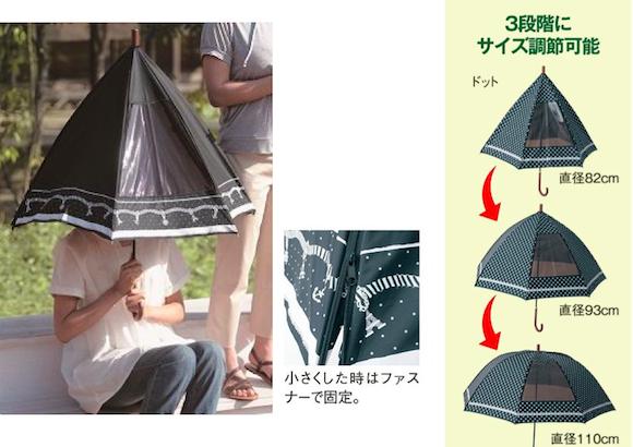 ギャグっぽいけど1本欲しい! 超高機能な進化系日傘