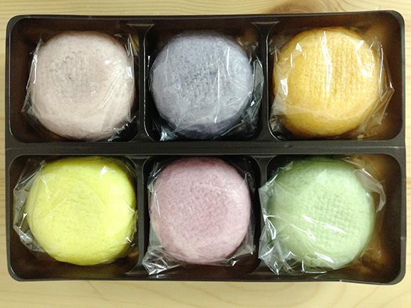 【知られざる名物】福島県郡山市の銘菓「薄皮饅頭」がカラフルになってるうぅ〜!!