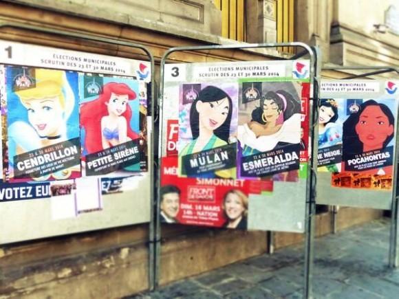 パリ市長の座を手に入れるのは誰!? もしもディズニープリンセスが選挙に出馬したら…?
