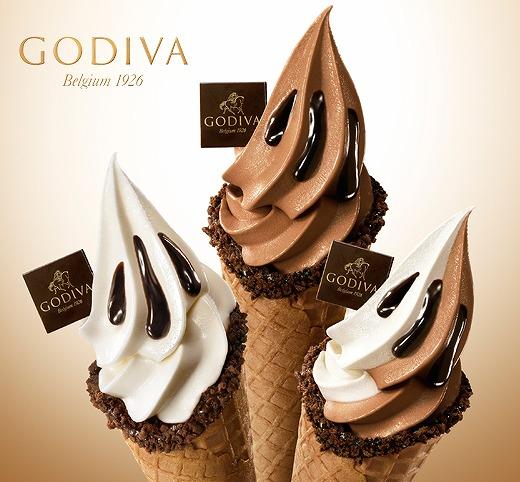 【店舗限定】バニラ×ホワイトチョコ×ミルク!!! 「ゴディバ」の新作ソフトクリームはひと口で贅沢気分になれるおいしさ♪