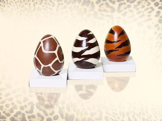 プレゼントされた~い! ロヴェルト・カヴァリから発売されているアニマル柄イースターチョコが激カワで胸アツなのだ♪