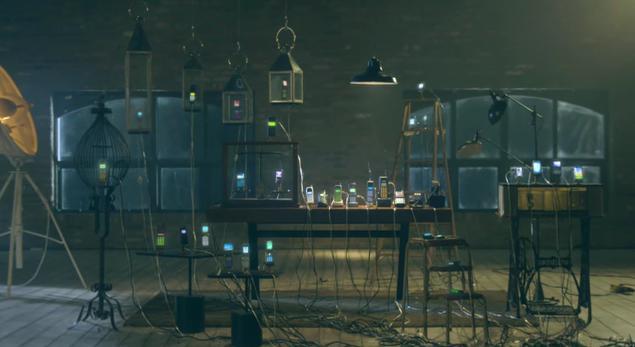 歴代の携帯電話の音で奏でる音楽がステキ! 韓国SKテレコムによる「歴代携帯電話オーケストラ」動画