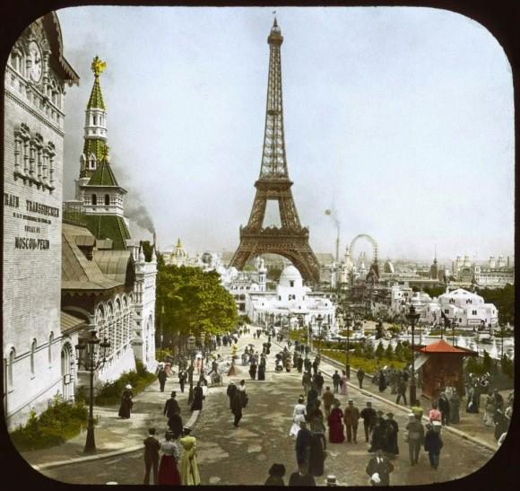 1900年(明治44年)パリ万博のモノクロ写真をカラーに修正! 当時の臨場感がめちゃリアルに伝わってきてスゴイ!!