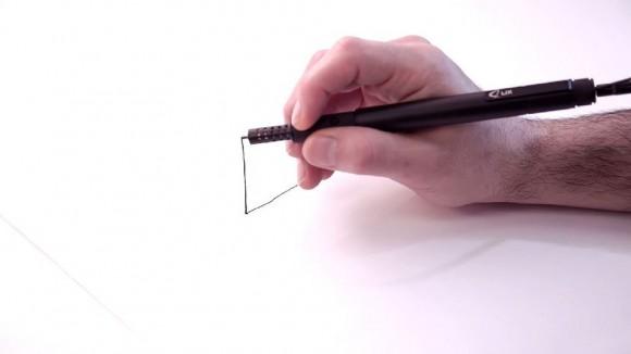 空間に立体的な絵を描くことができる3Dペンがさらに進化/ スマートなビジュアルはどう見ても「ボールペン」だよ!
