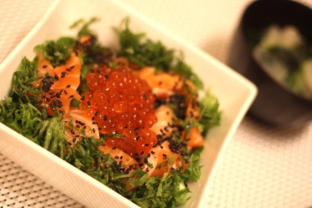 【ずぼら栄養士の15分ご飯 Vo.1】自炊はやせる。ビタミンDたっぷりの「いくら丼セット」でイライラも阻止せよ!
