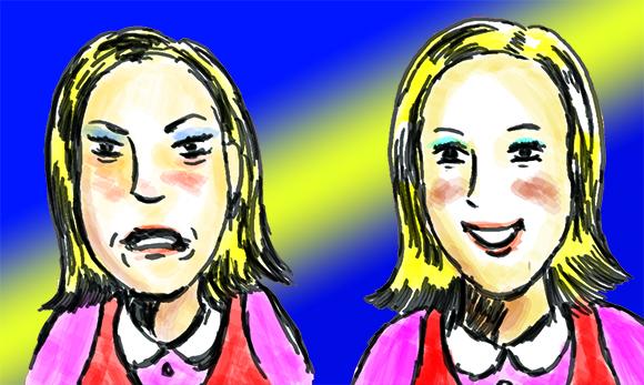 男子「嵐の松本潤になりたい」→女子「は!? 頭おかしいのかテメー」 / 女子「ミランダ・カー目指してます(キャピ」→女子「かわいい!頑張ろうね!」なぜなのか