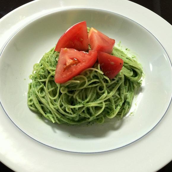 【めちゃウマ簡単レシピ】 日本古来の植物「明日葉(アシタバ)」で「さっぱり美肌パスタ」を作ってみたよ♪ フライパンを使わずに15分で冷製パスタが完成しちゃった!!!